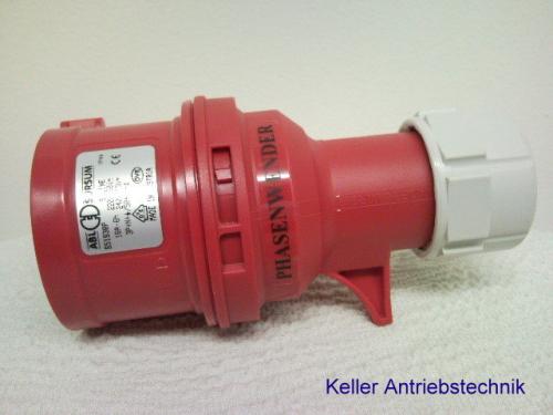 Gut gemocht CEE-Stecker Phasenwender 400 V 16 A - Andreas Keller Antriebstechnik ZD33